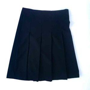 Tracy Evans Black Pleated Skirt Size 3 Juniors